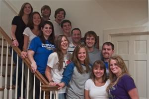 Cedar Run's Leadership Team taken at our Leaders Overnight in August
